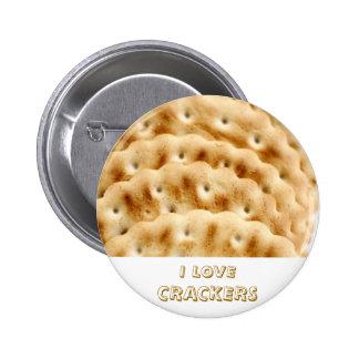 Crackers 6 Cm Round Badge