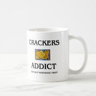 Crackers Addict Mugs