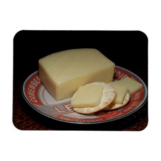 Crackers and Cheese Rectangular Photo Magnet