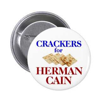 Crackers for Cain button