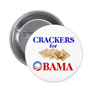 Crackers for Obama button