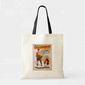 Crackers Jacks Mr Richard Anderson Vintage Thea Bag
