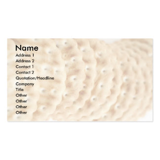 Crackers Pack Of Standard Business Cards