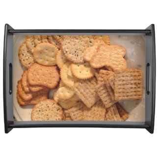 Crackers Photo Serving Tray