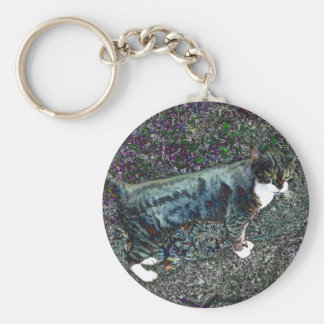 Crackers the Cat Keychain