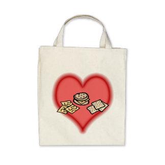 crackers tote bag