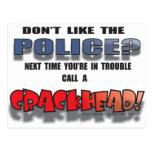 CRACKHEAD POST CARDS