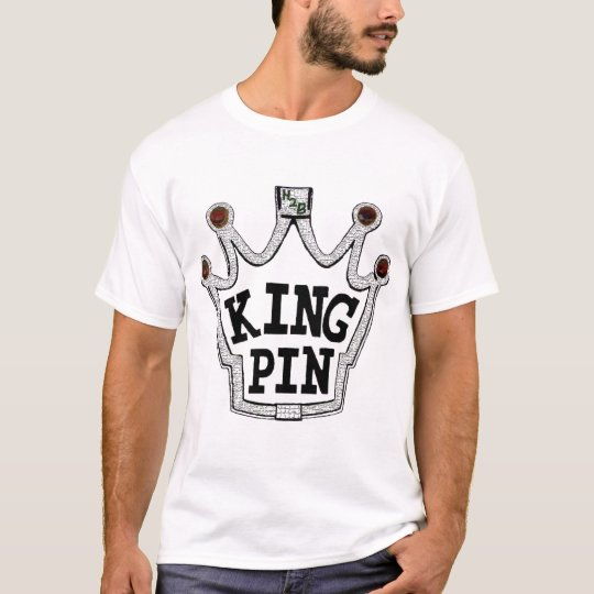 Crackle King Pin T-Shirt