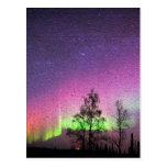 Crackle Texture Art Northern Lights Sky Alaska
