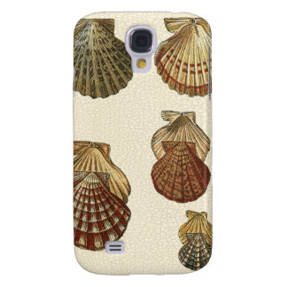 Crackled Antique Shells Galaxy S4 Case