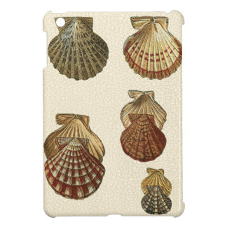 Crackled Antique Shells iPad Mini Cases