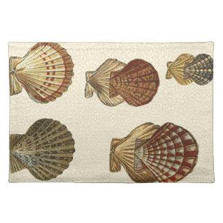 Crackled Antique Shells Placemat