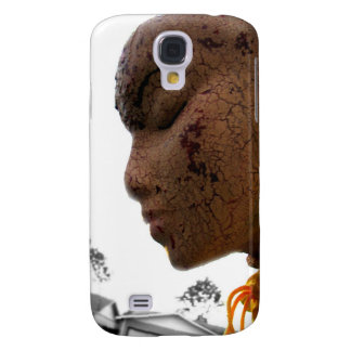 Crackled Galaxy S4 Case