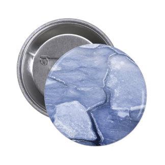 Cracks In The Ice 6 Cm Round Badge
