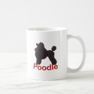 Cradle Black Poodle Mug