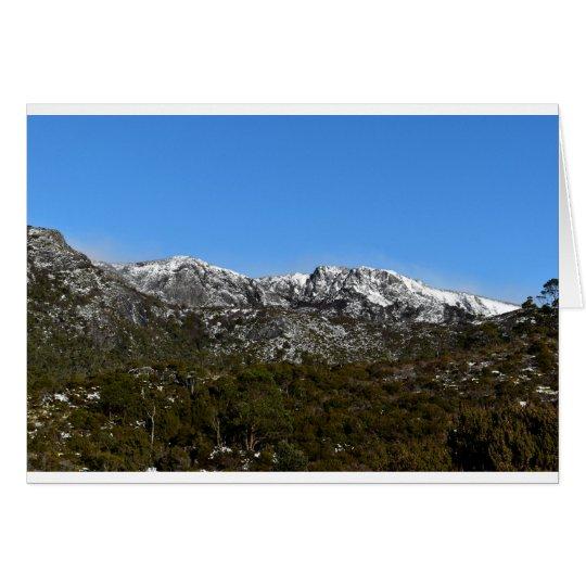 CRADLE MOUNTAIN TASMANIA AUSTRALIA CARD