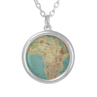 Cradle of Civilization Silver Plated Necklace