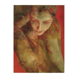 Cradlesong 1998 wood canvas