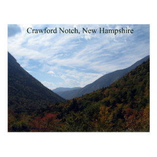 Craford Notch, New Hampshire in the Fall Postcard