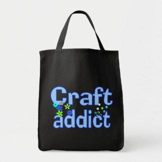 Craft Addict Beads Design Gift Tote Bag