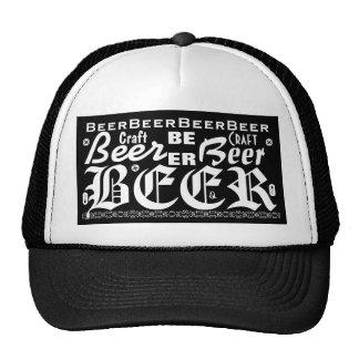 Craft Beer, Black & White 3 Cap