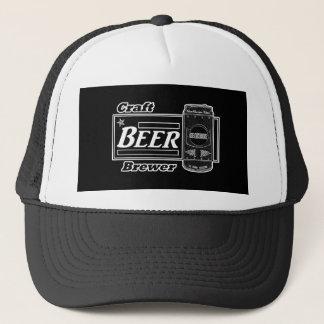 Craft Beer Brewer - Black & White Can 2 Trucker Hat