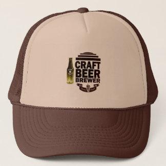Craft Beer Brewer - Burgundy Logo Trucker Hat