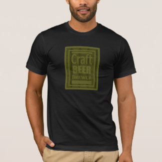 "Craft Beer Brewer Green ""Im the Brewer on Reverse"" T-Shirt"