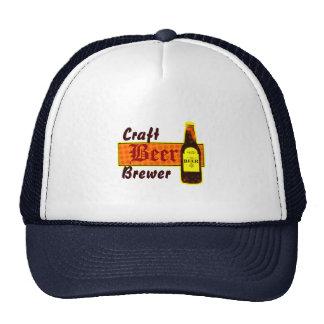 Craft Beer Brewer,Orange & Yellow Cap