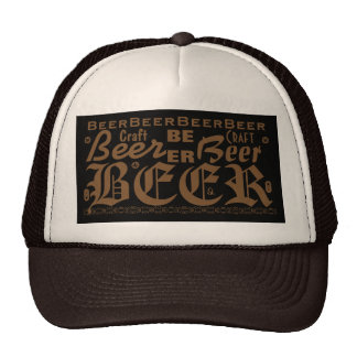 Craft Beer, Brown Cap