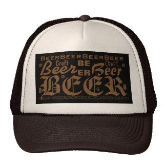 Craft Beer, Brown Mesh Hats