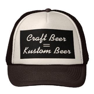 Craft Beer = Kustom Beer Cap