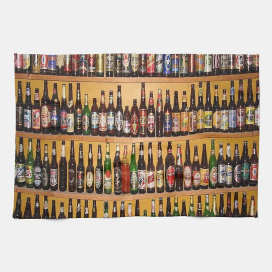 craft beer mens kitchen hand towel