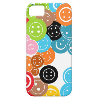 Craft Buttons Art Pattern iPhone 5 5s Cover