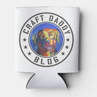 Craft Daddy Blog Logo Koozie