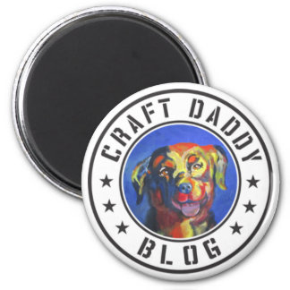 Craft Daddy Blog Logo Magnet