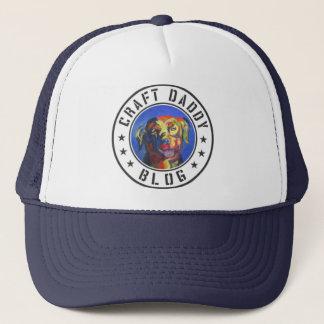 Craft Daddy Blog Logo Trucker Hat