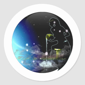 Craft Dungeon Zodiac - Aquarius Sticker