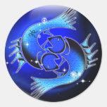 Craft Dungeon Zodiac - Pisces Round Sticker