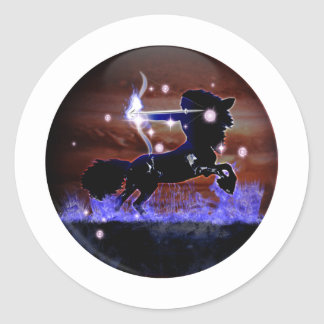 Craft Dungeon Zodiac - Sagittarius Classic Round Sticker