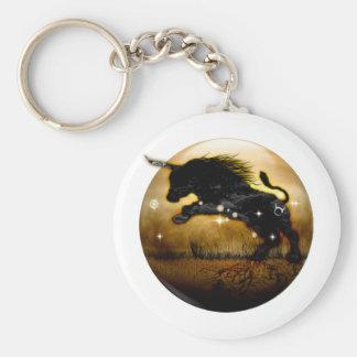 Craft Dungeon Zodiac - Taurus Basic Round Button Key Ring