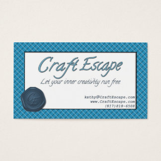 Craft Escape Business Cards