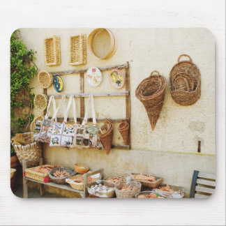 Craft product at a market stall, Siena Province, Mouse Mat