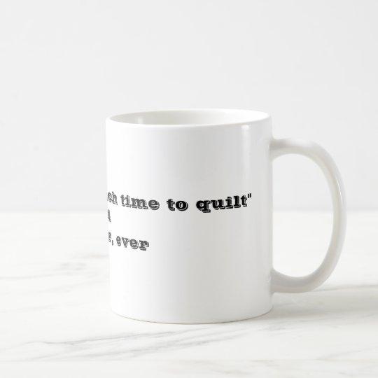 Craft Quilting Novelty Mug