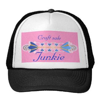 craft sale junkie trucker hat