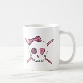 Craft Skull (Pink) Coffee Mug