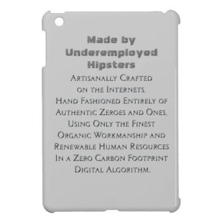 Crafted on the Internets Hipster Case For The iPad Mini
