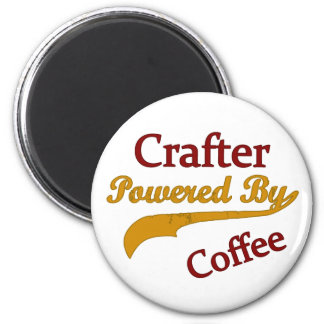 Crafter Powered By Coffee Magnet