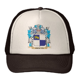 Crafts Coat of Arms - Family Crest Mesh Hats