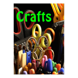 Crafts - handmade large business cards (Pack of 100)